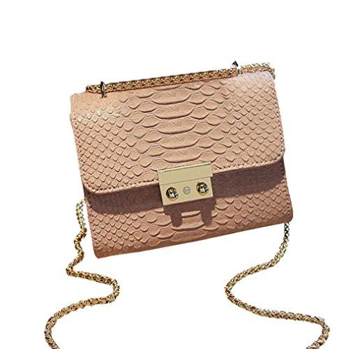 Transer Women Shoulder Bag Popular Girls Hand Bag Ladies PU Leather Handbag, Borsa a spalla donna Pink 18cm(L)*14(H)*8cm(W) Pink