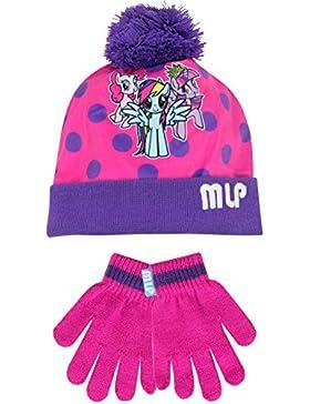 Mi Pequeño Pony - Conjunto de gorro y guantes para niña - My Little Pony