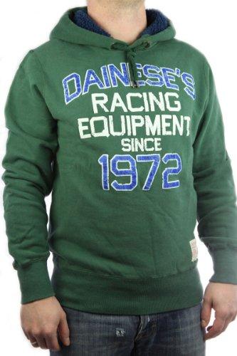 Franklin & Marshall Herren Hoodie Felpa Racing Equipment grün in GR. L, men