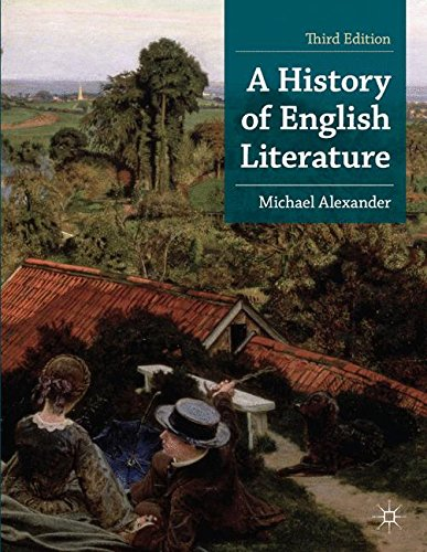 A History of English Literature (Palgrave Foundations Series) por Michael Alexander
