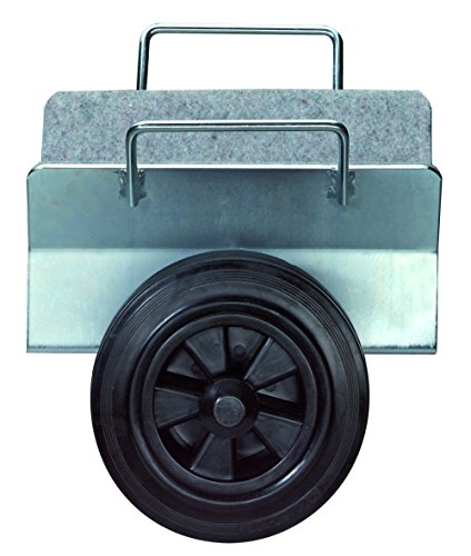 BS Rollen Plattenwagen.2G Plattenklemmwagen, Klemmbreite 0-110 mm, Gummiräder