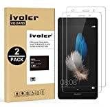 [Lot de 2] Huawei P8 Lite Protection écran, VGUARD [0.30 mm Dureté 9H] Film Protection d'écran en Verre Trempé Glass Screen Protector Vitre Tempered pour Huawei P8 Lite - Dureté 9H, Ultra-mince 0.30 mm, 2.5D Bords Arrondis- Anti-rayure, Anti-traces de D