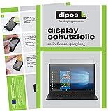 dipos I 2X Schutzfolie matt passend für Medion Akoya E4254 Notebook Folie Displayschutzfolie
