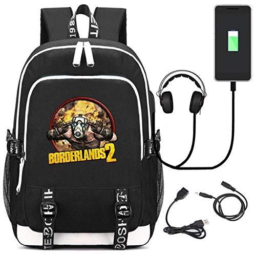 ksack Cosplay Kids Teens Laptop Schulter Reisetasche Gamer Student Schultaschen Geschenk BO14 ()