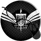 Schreibtischunterlage,Ultimative Disc Golf Basket Gaming-Mauspad, Niedliche Anti-Rutsch-Mauspad-Pads Für Heimcomputer-Laptop 20 X 20 Cm