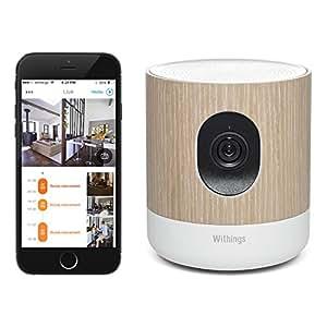 Withings Home - Caméra de Surveillance Wi-Fi avec Suivi de la Qualité de l'Air