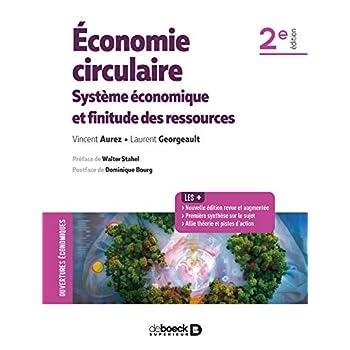 Economie circulaire - Système économique et finitude des ressources