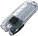 Nitecore Tube transparent - Schlüsselanhängerleuchte, 45 Lumen, über USB aufladbar
