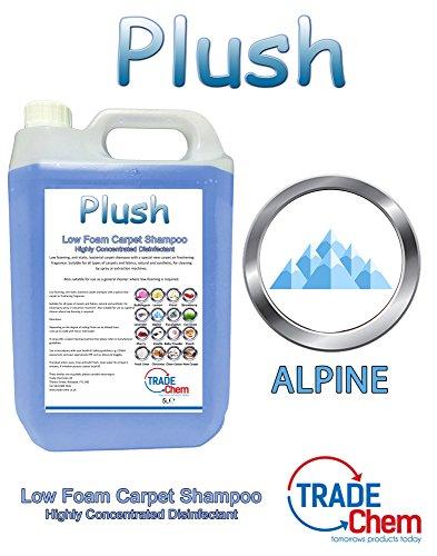 Konzentriertes Plush Teppich-Desodorierungsmittel und Shampoo 5l, OCEAN FRESH