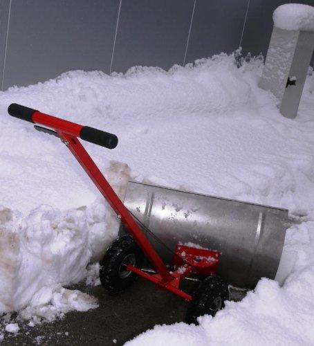 Schneeräumer / Schneefuchs neue Version 2015, auswechselbare Verschleißkante - 3