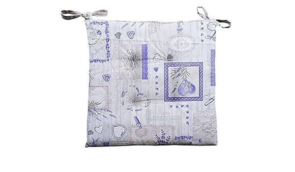 Confezioni Giuliana N. 4 Cuscini Copri Sedia coprisedia per