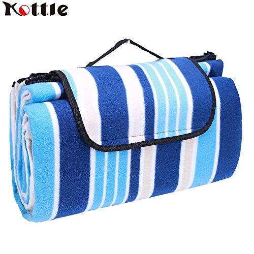 Kottle Outdoor-Picknick Decke wasserdicht Extra große...