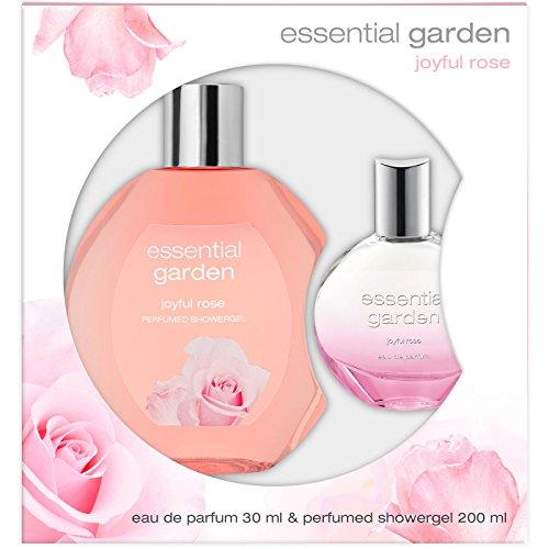 Essential Garden Joyful Rose GSP Geschenkset EdP 30 ml+DG100 ml, 0.29899999999999999 g - Essential Garden