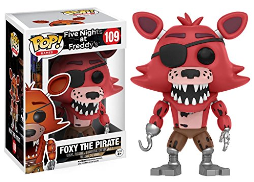 Five Nights At Freddy's Foxy The Pirate Vinyl Figure 109 Collector's figure Standard