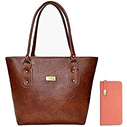Shevanna Women's PU Leather Handbags For Ladies And Girls