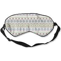 Christmas Snowflake Pattern Sleep Eyes Masks - Comfortable Sleeping Mask Eye Cover For Travelling Night Noon Nap... preisvergleich bei billige-tabletten.eu