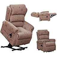 Axbridge Dual motor electric riser and recliner mobility lift chair rise / lift and tilt