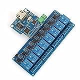 SainSmart iMatic 8 Kanäle WIFI Netzwerk IO Controller für Arduino Relais Android iOS (Wifi Controller + 8-CH Relais)