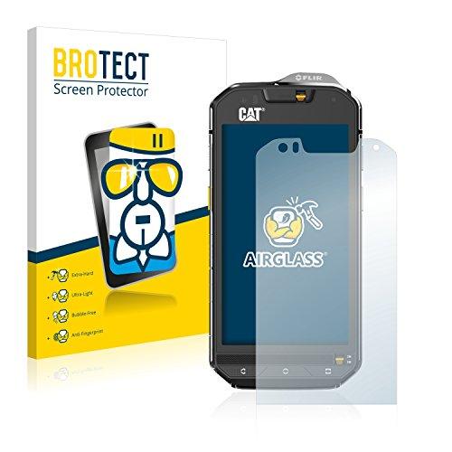 brotect Protection Ecran Verre Compatible avec Caterpillar Cat S60 Film Protecteur Vitre 9H Anti-Rayures, AirGlass