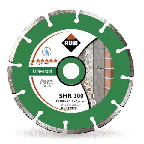 RUBI SHR 350 PRO - DISCO DE DIAMANTE GENERAL OBRA SEGMENTADO (350 MM)