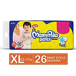 MamyPoko Pants Standard Diapers, Extra Large (Pack of 26)