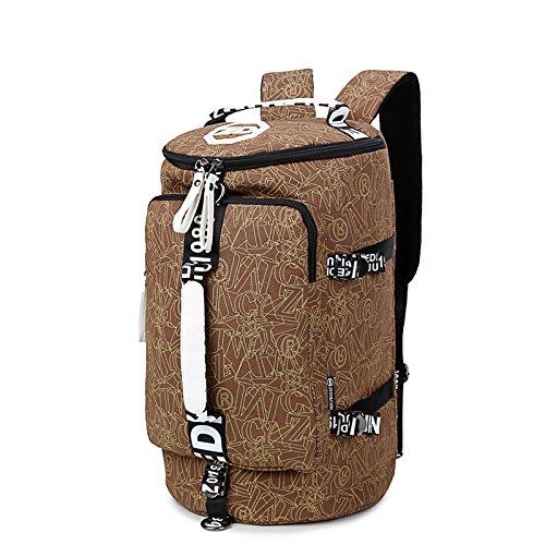 TBB-Borse a tracolla in tela di viaggio Tempo libero borse sportive Outdoor borse da viaggio di grande capienza zaino viaggio,D piccolo E Small