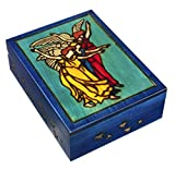 Enchanted World of Boxes Sephiroth Angels Jewelry Box Polish Handgefertigte Geburtstagskarte Tarot Halterung