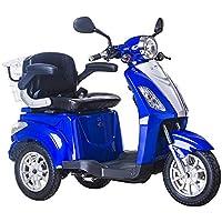 Lunex Scooter Electrico Movilidad Reducida Triciclo/Scooter RECREATIVO Minusvalido Mayores 3 Ruedas Adulto con Asiento