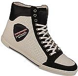 Roberto Cavalli Cavalli Shoes Leather Mid Top Boot XOUAPW 80608-WHITE Size 45