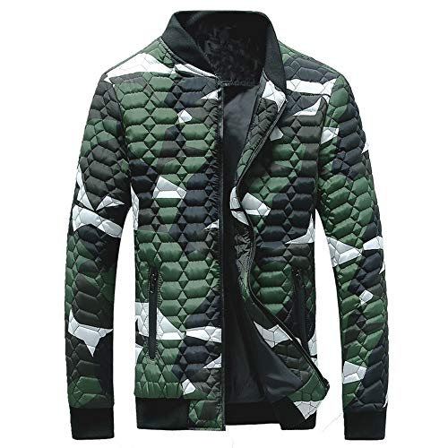 Togelei Herren Mantel Herren Winter Camouflage Bluse Verdickung Mantel Pullover Shirt Top Bluse...