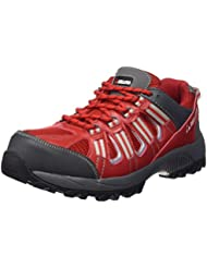 Bellota Trail S1P - Zapatos (talla 44) color rojo