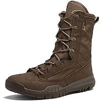 MERRYHE Hi-Leg Stivali Da Combattimento Protezione Polizia Sicurezza Army Cadet Scarpe Di Sicurezza Escursionismo Da Campeggio Desert Boot Zipper Tactical…