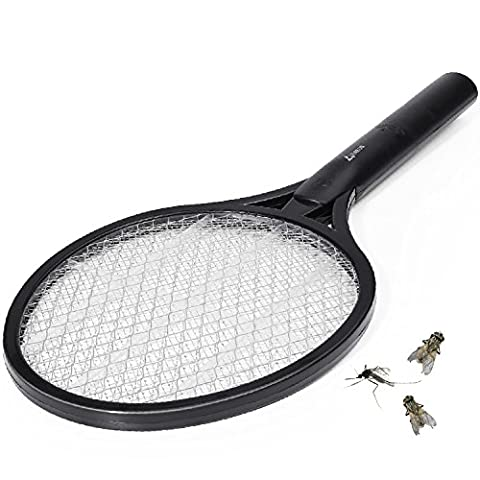 VIAEON fly swatter electric wasp trap fly killer mosquito racket
