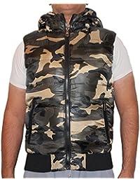 Waooh - Doudoune Sans Manches Camouflage Patton