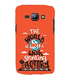 FUSON World Wish Granting Factory 3D Hard Polycarbonate Designer Back Case Cover for Samsung Galaxy J2 (6) 2016 J210F :: Samsung Galaxy J2 Pro (2016)
