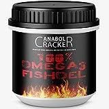 100% Omega 3 Fischöl, 520 Kapseln, hochdosiert - 3000 mg Tagesdosis mit EPA + DHA + Vitamin E, - Fettverbrennung Diät Muskelaufbau