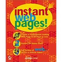 Instant Web Pages! by Peter Weverka (2001-01-03)