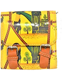 Women's Designer Small Sling Bag | Kids Sling Bag – Yellow Orange Sling Bags,Small Pouches/clutches