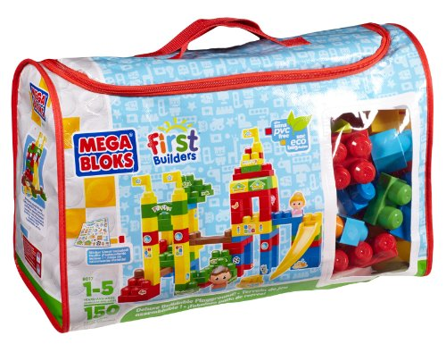 Mega Bloks - Juego de construcción para niños de 150 piezas (Mega Brands 08017U)