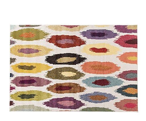 Alfombrista Moderna 2 Alfombra, Acrílico, Multicolor, 70 x 140 cm