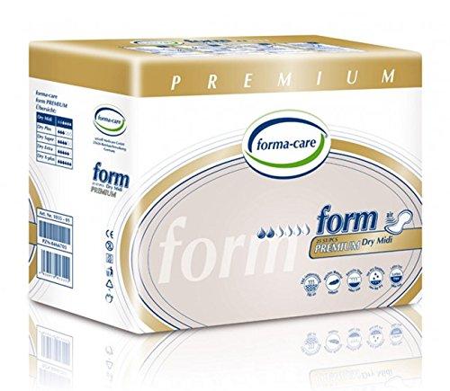 Formacare 1035–01modulo Premium Dry MIDI Incontinence Pad, grigio (confezione da 25)
