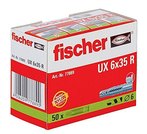 fischer-ux6x35r-anclaje-de-taco-rapido-6-x-35-mm