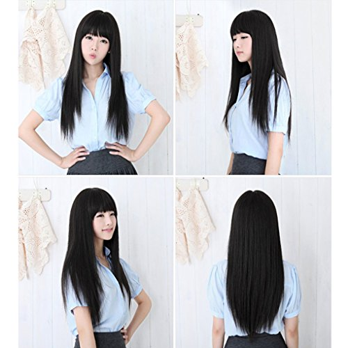 Babysbreath-Femmes-longues-et-pleines-perruques-compltes-Cosplay-Hair-Extensions-Hairpiece