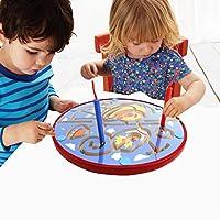 Lewo Magnetic Bead Maze Puzzle Toy Doble cara secar Erase Easel Juegos de mesa para niños