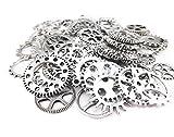 100gram assortiti Gear DIY antico ciondoli misti metal Steampunk ciondoli per fai da te, gioielli di fai da te fai da te accessori Kl574p Sweatshirt - Bambini