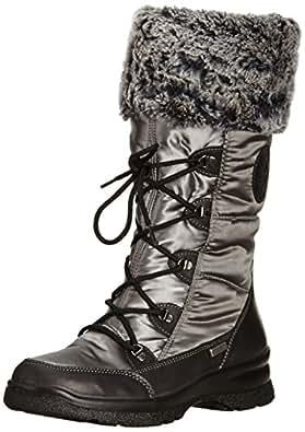 Van Dal Womens Havelock Snow Boots 2167620 Grey/Black 4 UK (37 EU Wide)