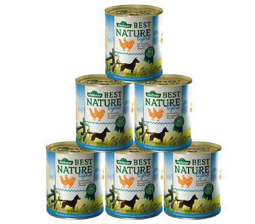 Dehner Best Nature Perros Forro Light Gallina y Zanahorias con distelöl