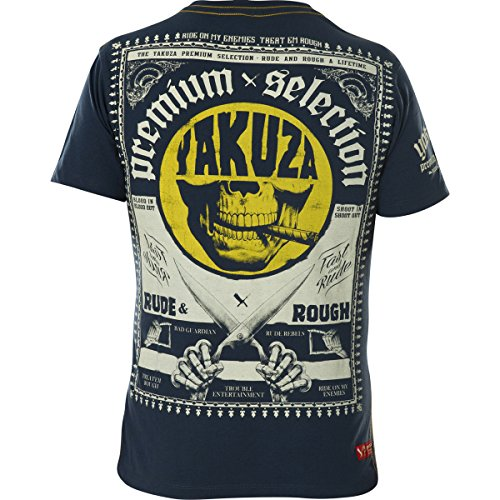 Yakuza Premium T-Shirt YPS-2113 Blau Blau