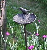 Vogeltränke auf Stab - Höhe 98cm