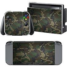 Supremery Nintendo Switch Skin Etiqueta Pegatina para Nintendo Switch Consola, Joy con Controlador y Estación de acomplamiento